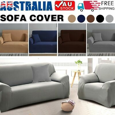 1/2/3 Seater Sofa Covers Slipcover Elastic Stretch Settee Couch Floral Protector