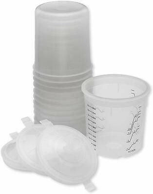 PPS 16000 style Cups - 50 Lids, 50 Liners, 1 Hard Cup.