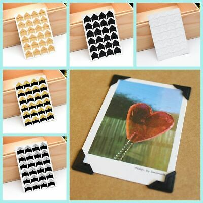 Vintage Album Picture Frame Stickers Photo Corner Protectors Scrapbooking