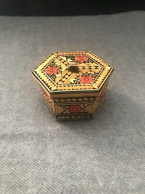 small wood chinese style trinket box