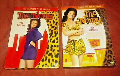 The Nanny: The Complete First & Second Season (DVD, 3 Disc Sets) *TESTED*