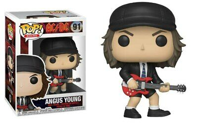 Funko POP Rocks: AC/DC - Angus Young (1/6 Chase Chance) Toy Fun Figure Vinyl New