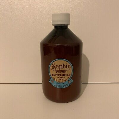 500ml Saphir Creme Universelle Leather Balm Nourishes Protects Leather RRP £24