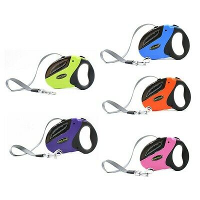 Retractable Dog Leash 16 ft Durable Puppy Walking Lead For Pet Dogs up to 110lbs