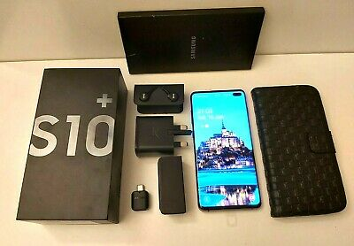 Samsung Galaxy S10+ 128GB - BLACK (Unlocked) Dual SIM