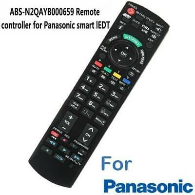For Panasonic TV Remote Replacement N2QAYB000496 Replaced sub N2QAYB000496 New