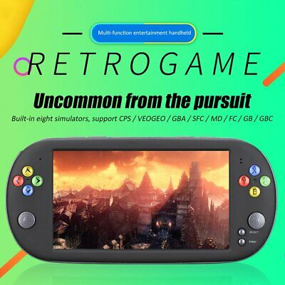 """X16 7"""" Console Handheld Portable 8GB Classic Video Game Player Spielkonsole DQ"""