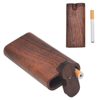 1 Pc New Fashion Swivel Cap Wood Dugout One Hitter Stash Box Set Gift Zid0y