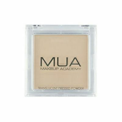 MUA Makeup Academy Pressed Face Powder in TRANSLUCENT Cruelty Free New Sealed