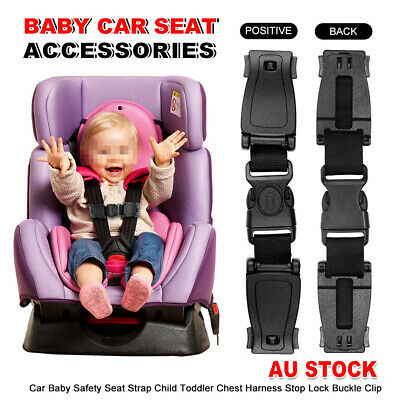 Baby Car Safety Seat Strap Clip Harness Chest Belt Child Buggy Buckle Lock