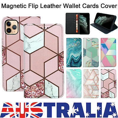 Magnetic Flip Leather Wallet Stand Card Case Cover For iphone 7 X XR 11 PRO MAX