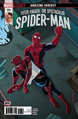 PETER PARKER SPECTACULAR SPIDER-MAN #303 LEGACY, Marvel Comics (2018)