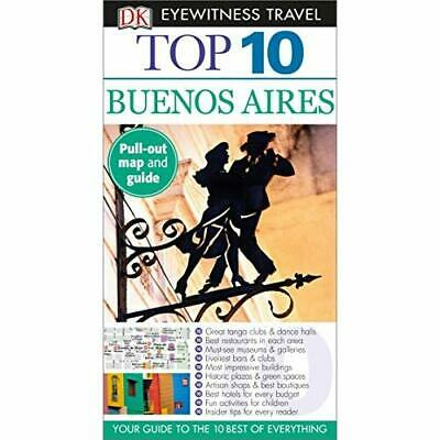 Top 10 Buenos Aires (DK Eyewitness Top 10 Travel Guides - Paperback NEW Jonathan