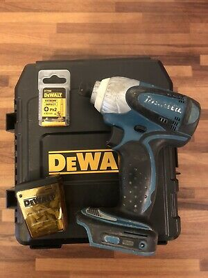 MAKITA Visseuse  Percussion + Coffret Vissage  Dewalt