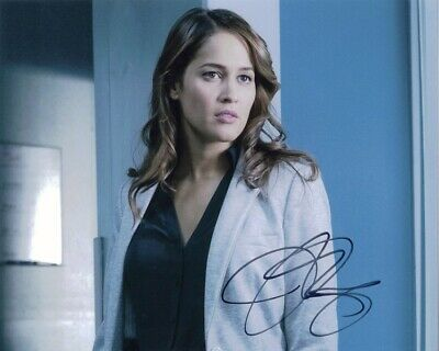 Jaina Lee Ortiz (Rosewood / ER) Signed 8x10 Photo AW World COA - JSA PSA