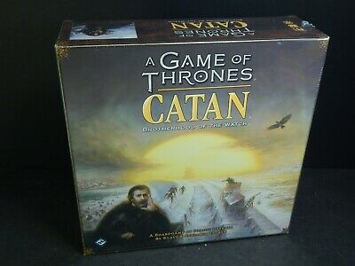 Sealed NEW Game Of Thrones Catan Brotherhood Of The Watch Board Game