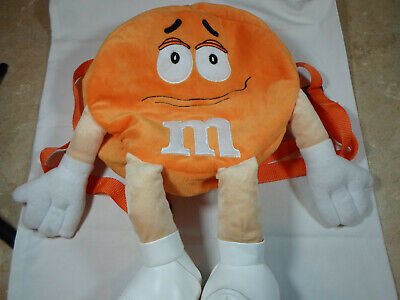 M/&M/'s World Orange Character Coin Purse Plush New with Tags
