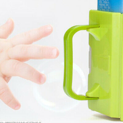 Bottle Cup Milk Holder Adjustable Safety Plastic Baby Toddler Juice Box Drink uf