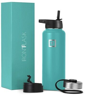 Iron Flask Sport Water Bottle Hydro Vacuum Insulated Stainless Steel  18 Oz.