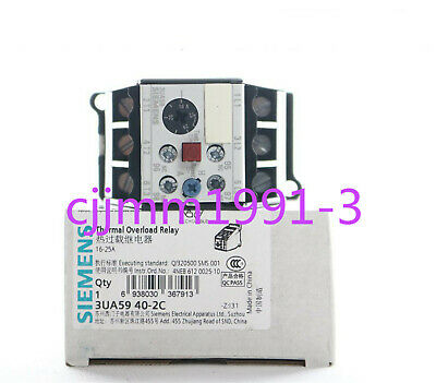 1PC NEW IN BOX Siemens relay 3UA5940-2C 16-25A #Y1