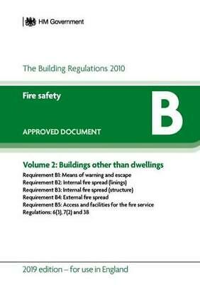 Approved Document B Volume 2 Buildings Other Than Dwellings by Great Britain ...