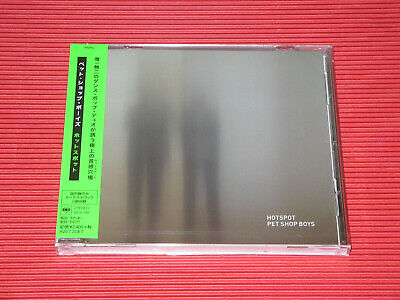 2020 Japan Cd Pet Shop Boys Hotspot With 2 Bonus Tracks For Japan Only