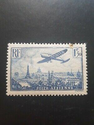 France Timbre Poste Aérienne Pa N°9 Neuf ** Luxe Mnh Cote 30.00€