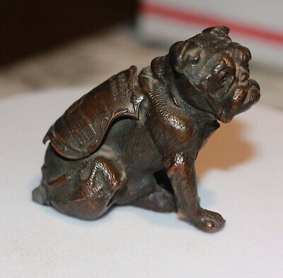 Rare Brass copper pug with state house boston mass mark