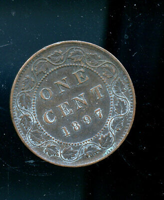1897 Canada Large Cent VF or better CQ30