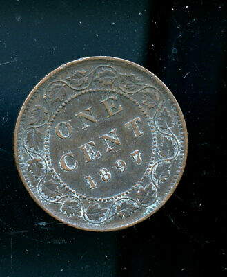 1897 Canada Large Cent F or better CQ31