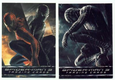 Spider-Man 3 Movie - Trading Card Album W/ P1 And P2 Promo Cards