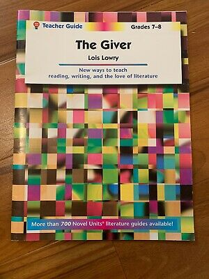The Giver - Teacher Guide by Novel Units by Novel Units