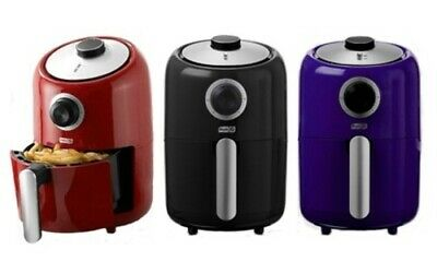 NEW Capital 1000W Compact Oil Free Air Fryer - Red