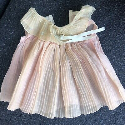 1930's Original Ideal Shirley Temple Doll Dress