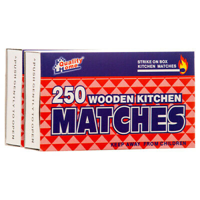 500 WOODEN RED PENNY MATCHES  2 Boxes