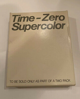 Polaroid vintage 1983 Time Zero Supercolor