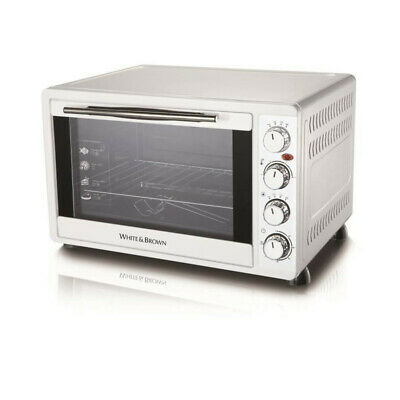 WHITE & BROWN MF 448-Mini four-45 L-2000 W-Voûte, sole ou convection-Rotissoire