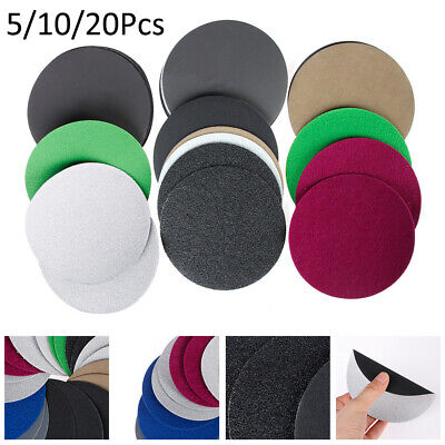 Carbide Waterproof 60 - 10000 Grit  Sandpaper Pads 5'' 125mm Sanding Disc