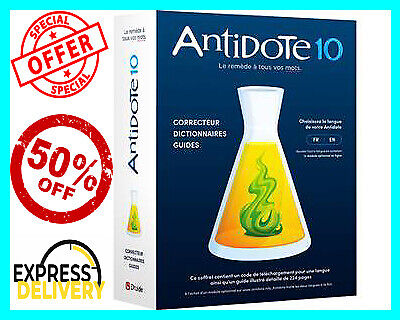 Druide Antidote 10 ✔️Full Version For Windows🔥 Instant Delivery⚡