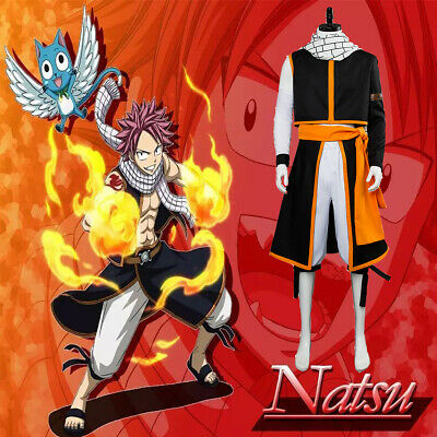 Hot! Fairy Tail Natsu Dragneel Cosplay Shoes For Costume Custom Made HH.36