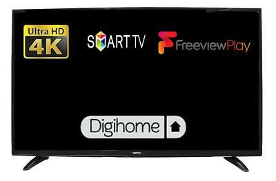 "Digihome 50551UHDS 50"" Smart 4K Ultra HD LED TV With Freeview Play In Black"