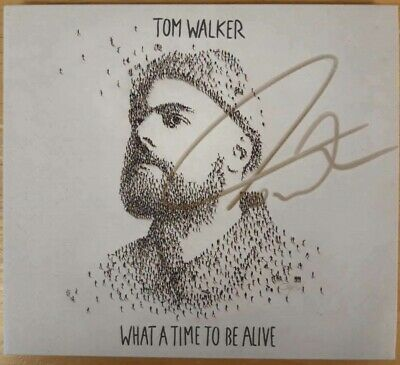 Tom Walker What A Time To Be Alive Exclusive Signed Cd Album
