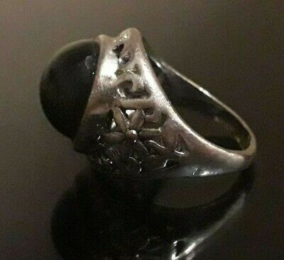 Antique Old Ring Artifact Men Jewelry Medieval Roman Methodology Wearable Unique