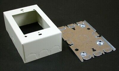 New - Wiremold: Raceway Switch And Receptacle Box - Product Seris: 500,700