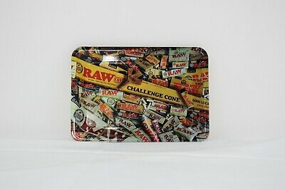 """Small Raw """"Papers"""" Rolling Tray"""