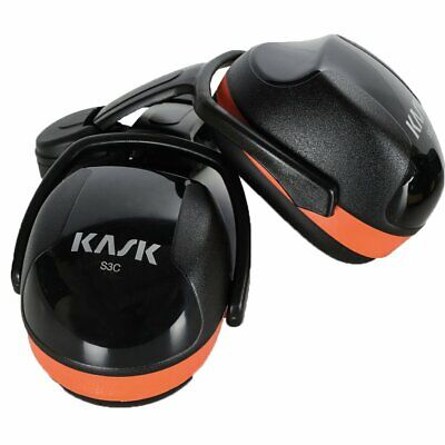 Clearance - Kask SC3 Orange Ear Defenders (fits Super Plasma & Zenith Helmets)