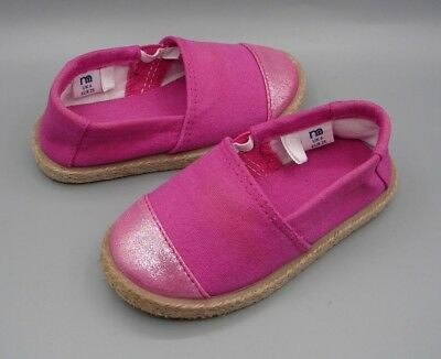 Girls Pink Canvas Shoes from Mothercare size UK 6.