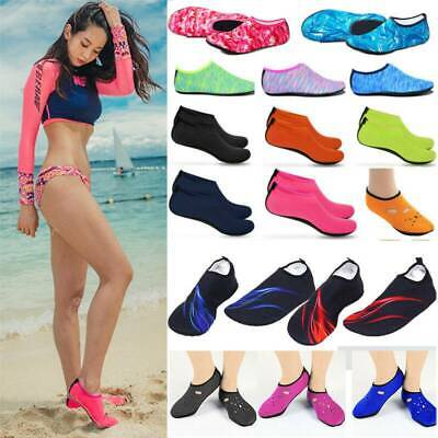 Mens Womens Barefoot Water Skin Shoes Aqua Socks Beach Surf Swim Pool Exercise
