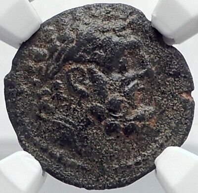 ANTIOCHOS IX KYZIKENOS Authentic Ancient Seleukid Greek Coin HERCULES NGC i82083