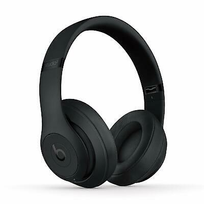 Beats Studio3 Wireless Headphones, Matte Black